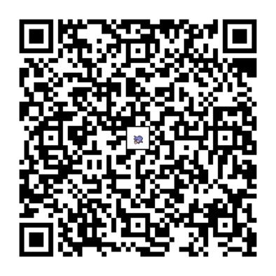 シェルダーのQRコードの画像