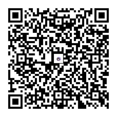 ゴースのQRコードの画像
