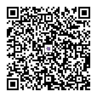 ゲンガーのQRコードの画像