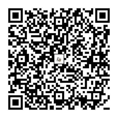 ガラガラのQRコードの画像
