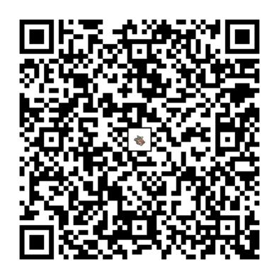 ガルーラのQRコードの画像