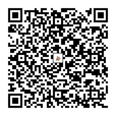 コイキングのQRコードの画像