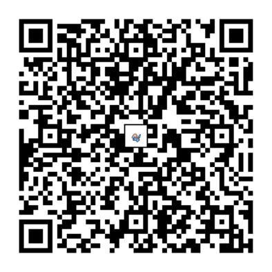 ポリゴンのQRコードの画像
