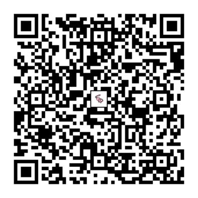 ミュウのQRコードの画像