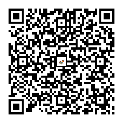 マグマラシのQRコード画像
