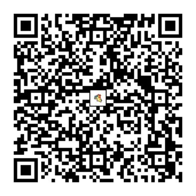 バクフーンのQRコード画像