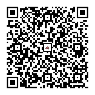 アリアドスのQRコードの画像