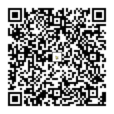 ピチューのQRコードの画像