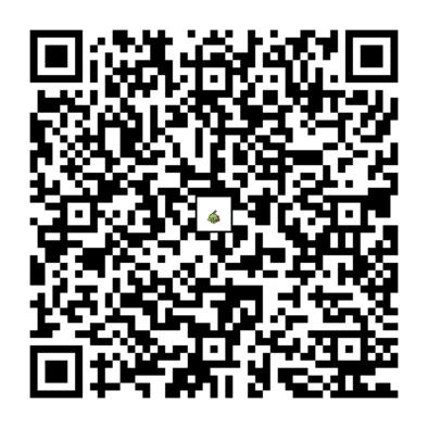 ネイティのQRコードの画像