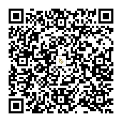 デンリュウのQRコードの画像