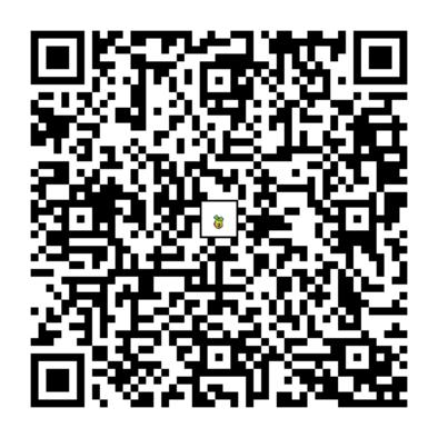 ヒマナッツのQRコードの画像