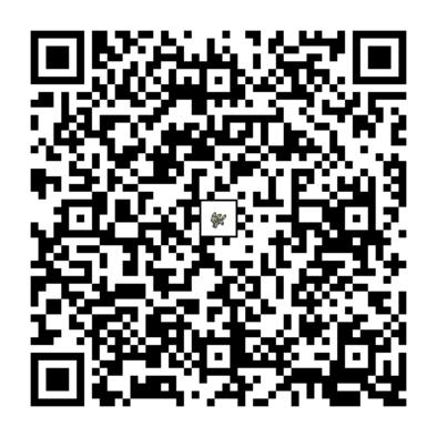 ブラッキーのQRコードの画像