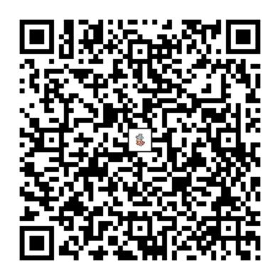 ヤドキングのQRコード画像