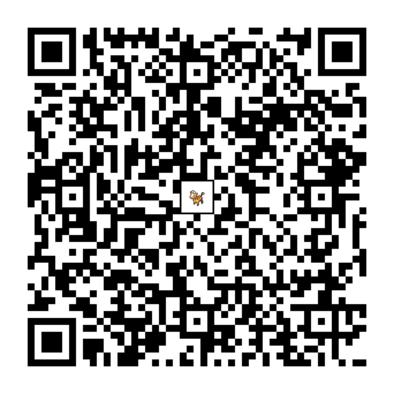 キリンリキのQRコードの画像