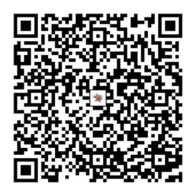 ハッサムのQRコードの画像