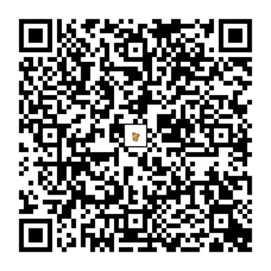 ヒメグマのQRコードの画像