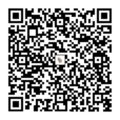 オドシシのQRコードの画像