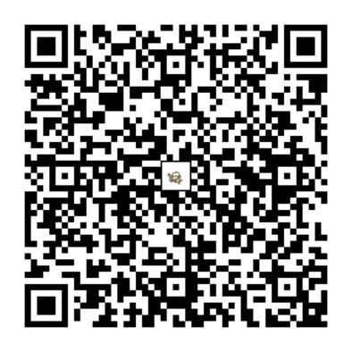 ドーブルのQRコードの画像