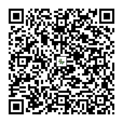 ジュカインのQRコード画像