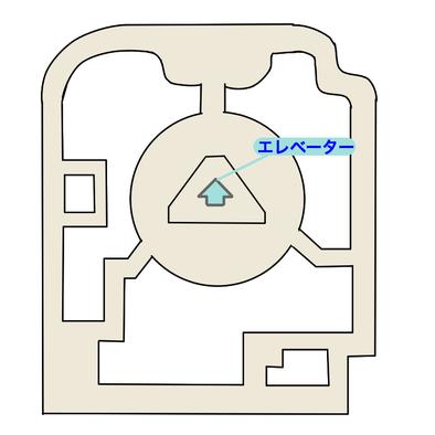 エーテルパラダイス保護区のマップ