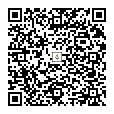 ワカシャモのQRコード画像