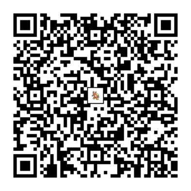 バシャーモのQRコード画像