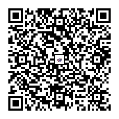 オオスバメのQRコード画像