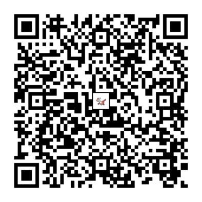 ラティアスのQRコード画像