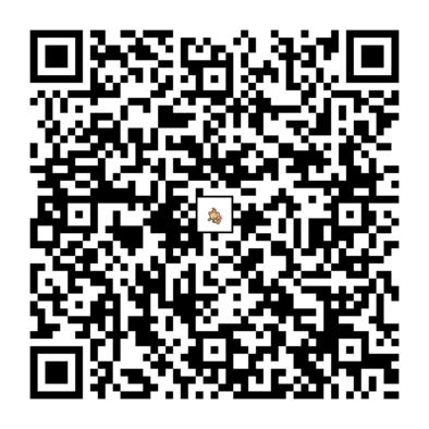 ヒコザルのQRコード画像