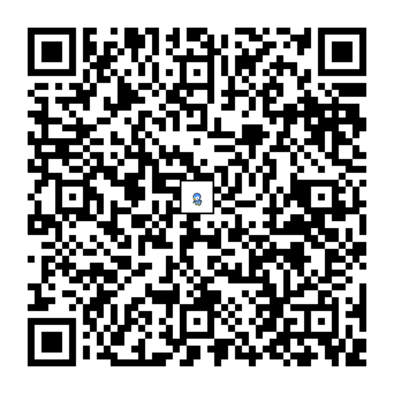 ポッチャマのQRコード画像