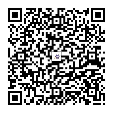 スカタンクのQRコード画像