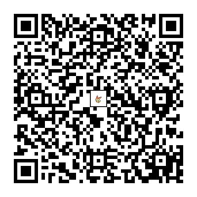 ビクティニのQRコードの画像