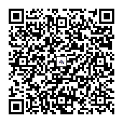 ガントルのQRコードの画像