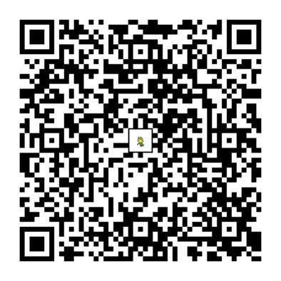 ハハコモリのQRコードの画像