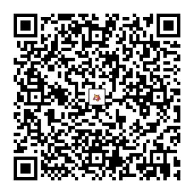 ヒヒダルマのQRコードの画像