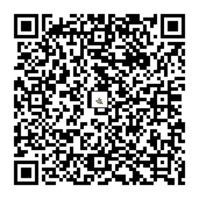 ヤブクロンのQRコードの画像