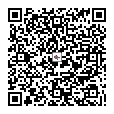 ゾロアークのQRコードの画像