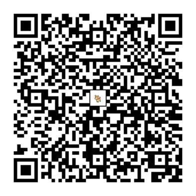 シキジカのQRコードの画像