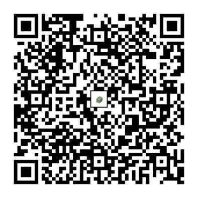 デンヂムシのQRコードの画像
