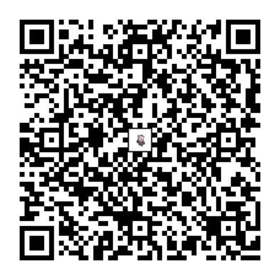 キテルグマのQRコードの画像