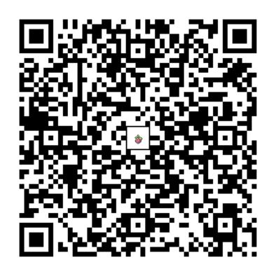 アマカジのQRコードの画像