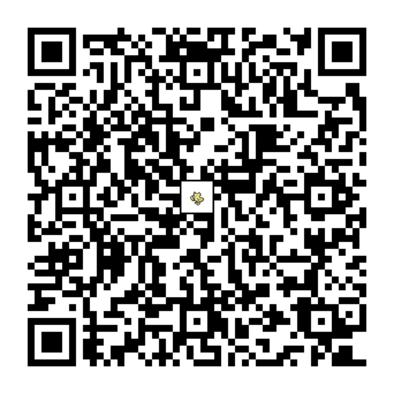 オドリドリ(ぱちぱちスタイル)のQRコード画像