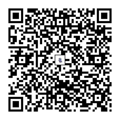 オドリドリ(まいまいスタイル)のQRコードの画像