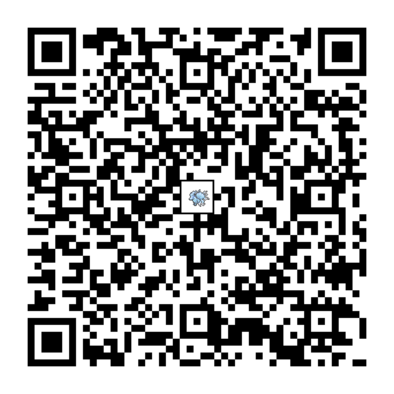 キュウコン(アローラのすがた)のQRコード画像