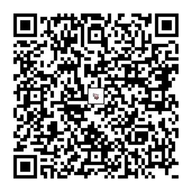 ヌイコグマのQRコードの画像