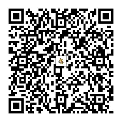 ライチュウ(アローラのすがた)のQRコード画像
