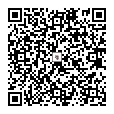 ルガルガン(まよなかのすがた)のQRコード画像