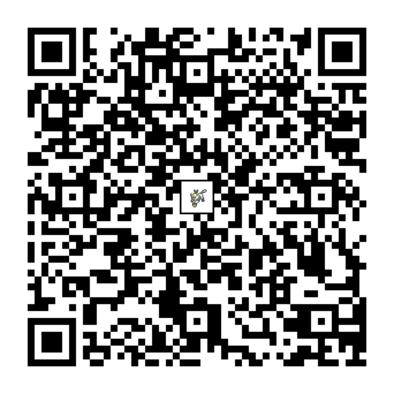 ナゲツケサルのQRコードの画像