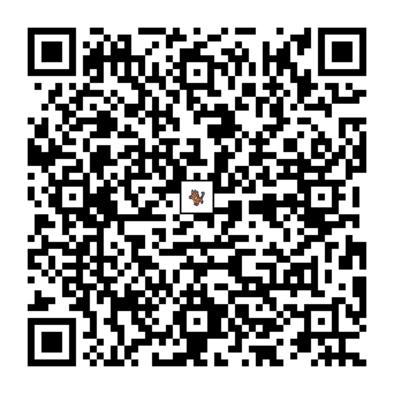 ニャヒートのQRコードの画像