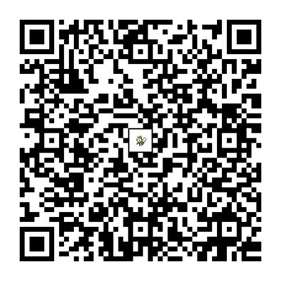 アブリボンのQRコードの画像